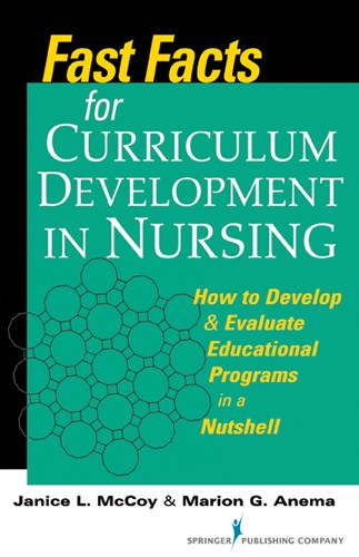 Book cover - Fast Facts for Curriculum Development in Nursing | 9780826109989