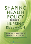 Book cover - Shaping Health Policy through Nursing Research | 9780826110695