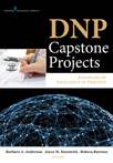 Book cover - DNP Capstone Projects | 9780826130259