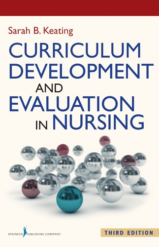 Book cover - Curriculum Development and Evaluation in Nursing | 9780826130273