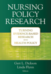 Book cover - Nursing Policy Research | 9780826133335