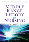 Book cover - Middle Range Theory for Nursing, Third Edition | 9780826195517