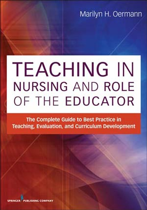 Book cover - Teaching in Nursing and the Role of the Educator | 9780826195531