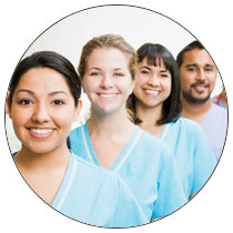Nurses smiling - The Growing DNP