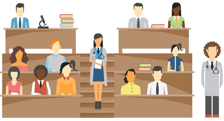 Cartoon professor lecturing - Teach Your Class