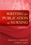 Book cover - Writing for Publication in Nursing, Third Edition | 9780826119919