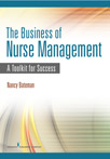 Book cover - The Business of Nurse Management | 9780826155726