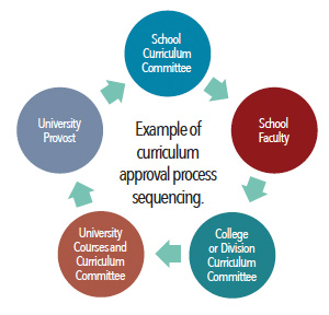 Example of DNP Curriculum Approval Process Sequencing