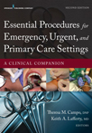 Book cover - Essential Procedures for Emergency, Urgent, and Primary Care Settings | 9780826171764