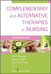 Book cover - Complementary and Alternative Therapies in Nursing, Seventh Edition | 9780826196125